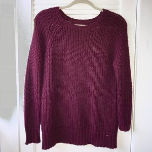 Maroon Jegging Sweater